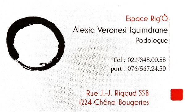 Alexia Veronesi Chêne-Bougeries